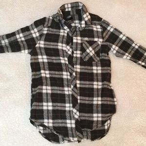 Sketchy Tank Snake Flannel Shirt
